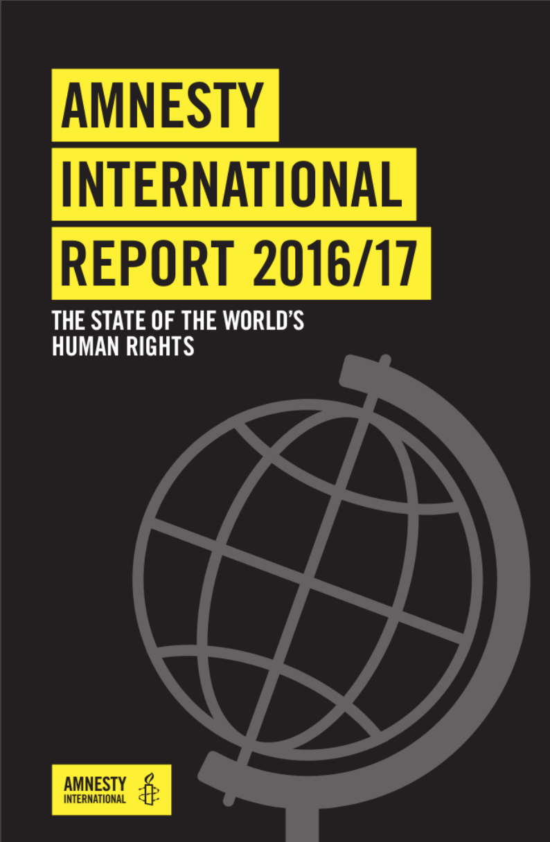 Amnesty International Report 2016/17 : the State of the World's Human Rights