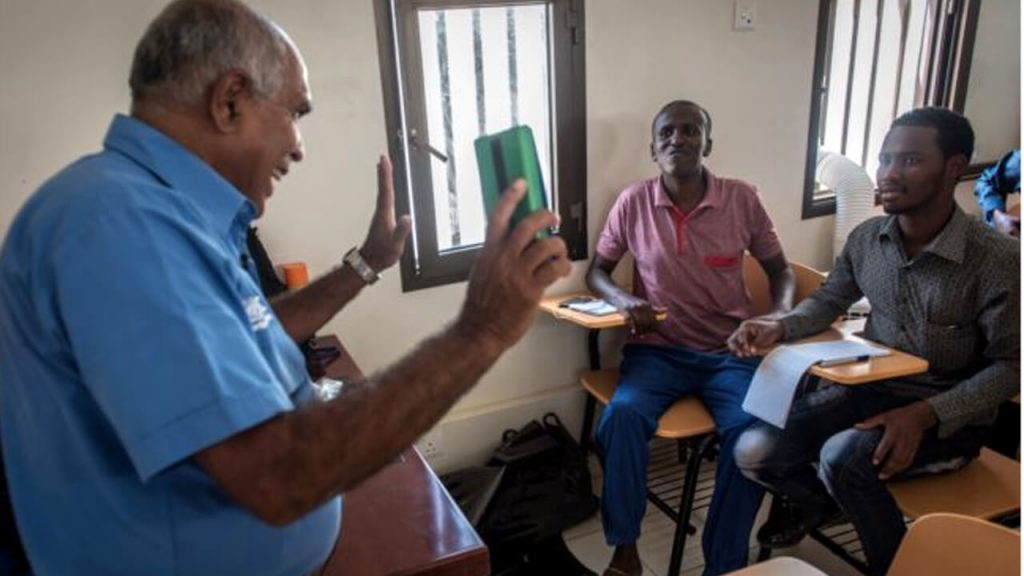 Once a Hostage, Sri Lankan Sailor Now Helps Battle Somali Pirates