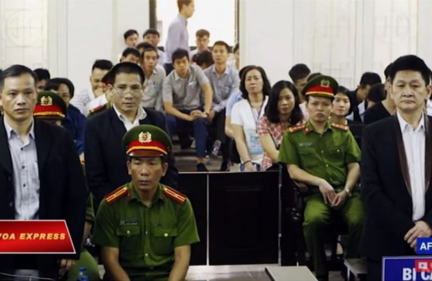 Vietnamese Activists Sentenced For 'Subversion' in Hanoi Trial