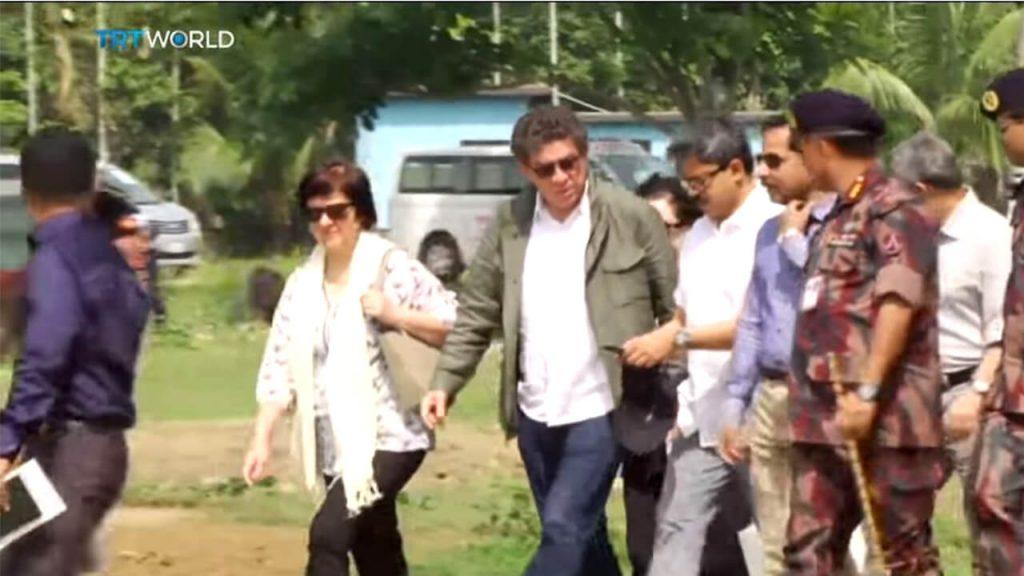 UN envoys visit Myanmar's Rakhine state