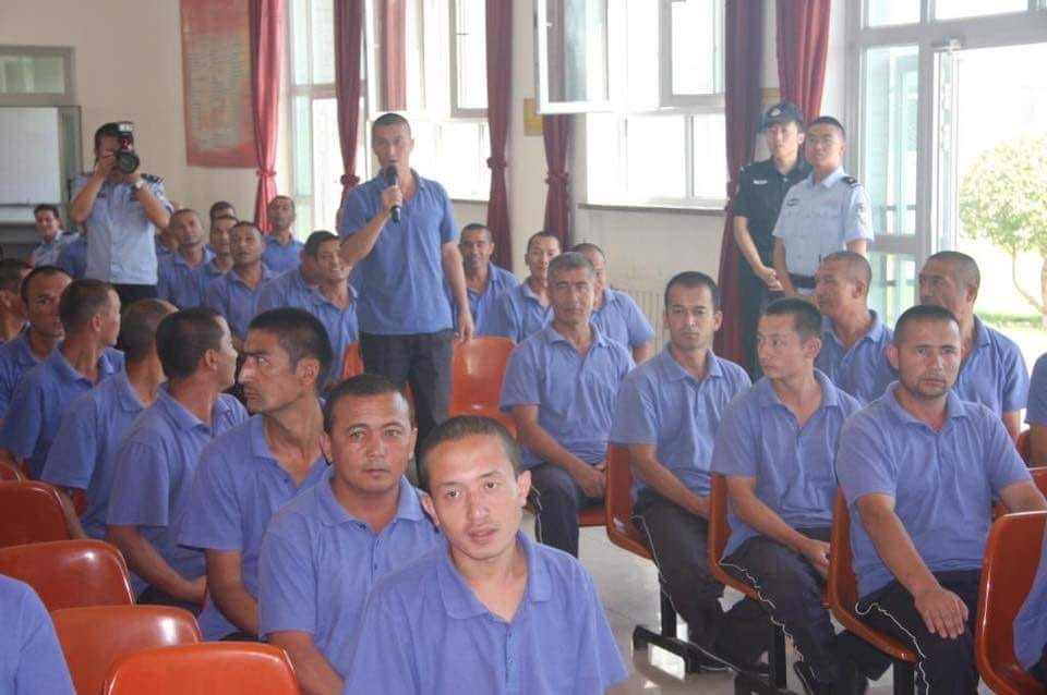 Uyghur in Xinjiang 'Political Re-Education Camp'3