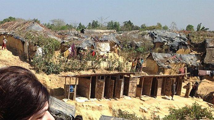 谴责中国在迫害缅甸罗兴亚人方面的作用