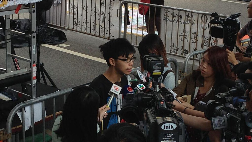 Activist Joshua Wong Banned From Travel, Four Years After Democracy Movement Began