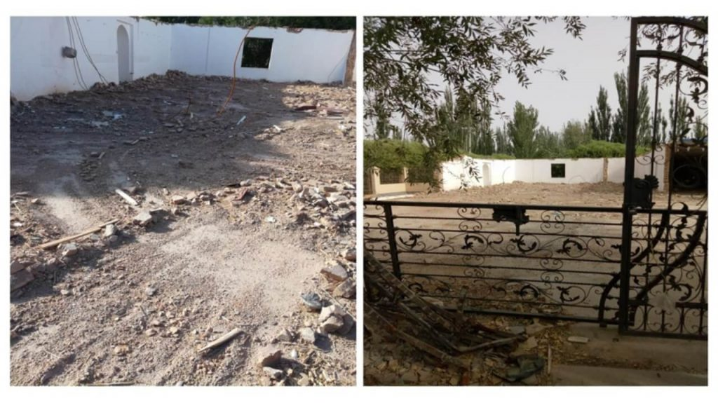 Mosques Lying in Ruins