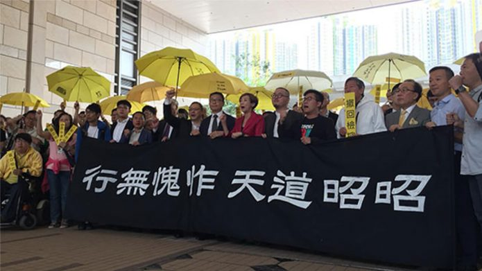 Nine Stand Trial in Hong Kong For 'Inciting' 2014 Pro-Democracy Movement