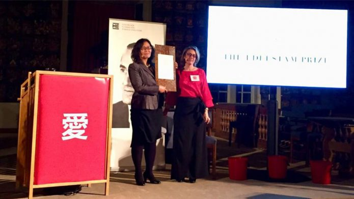 Wife of Detained Human Rights Lawyers Wins Human Rights Prize