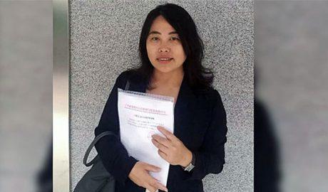 Guangzhou lawyer Sun Shihua in an undated photo.