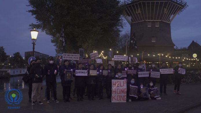 Denounce Police Sexual Violence—Hongkongers in Netherlands Stand with CUHK Student Sonia Ng
