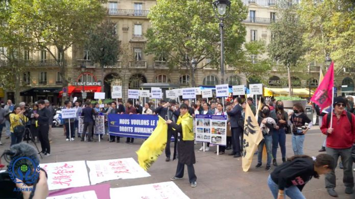 Paris Anti-totalitarianism Rally to Support Hong Kong