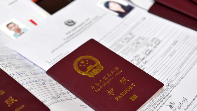documents of people who go abroad
