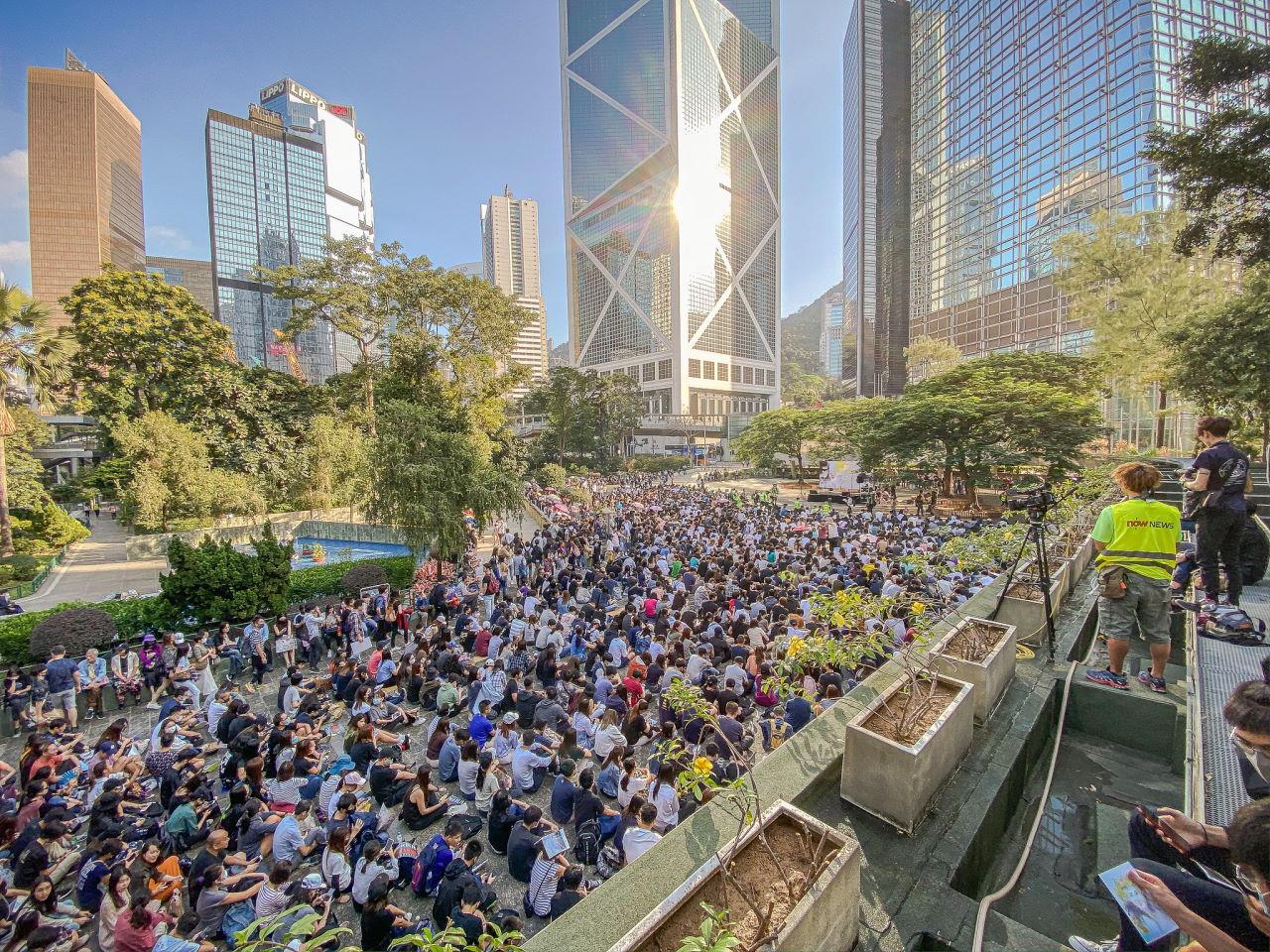 US Senate Approves Hong Kong Human Rights And Democracy Act