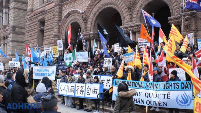 Toronto Rally Urges Canada to Sanction China's Human Rights Violators