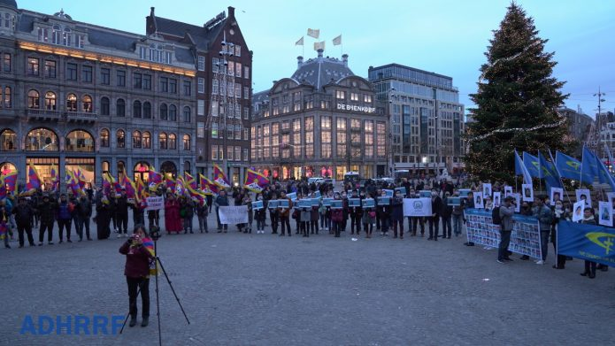 Dutch Rally Demands CCP Respect Human Rights and Release Political Prisoners