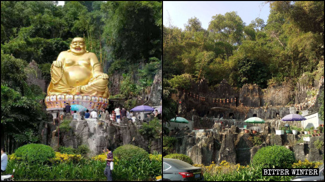 CCP Resolute to Remove All Outdoor Buddhist Statues at Any Cost