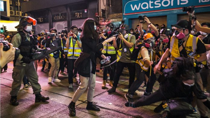 Hong Kong Journalists Hit Out at Police After Weekend of Renewed Protests