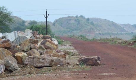A road in Odisha