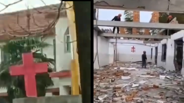 Coronavirus Does Not Stop Church Demolition, Cross Removal in China