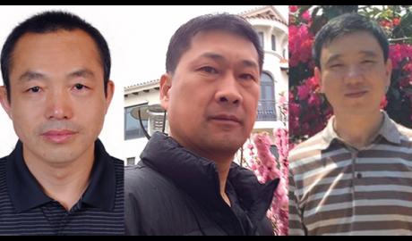Ding Jiaxi, Zhang Zhongshun and Dai Zhenya