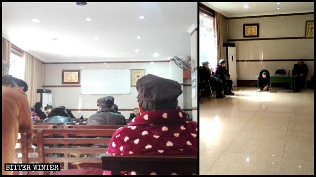 A house church in Hangzhou's Jianggan district was shut down on January 5.