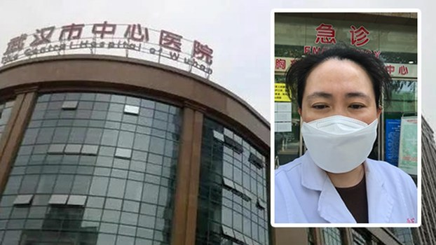Screenshot of whistleblowing Chinese doctor Ai Fen