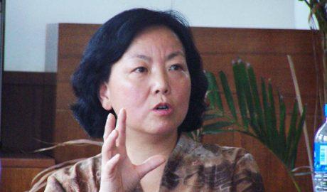 Wuhan-based writer Fang Fang