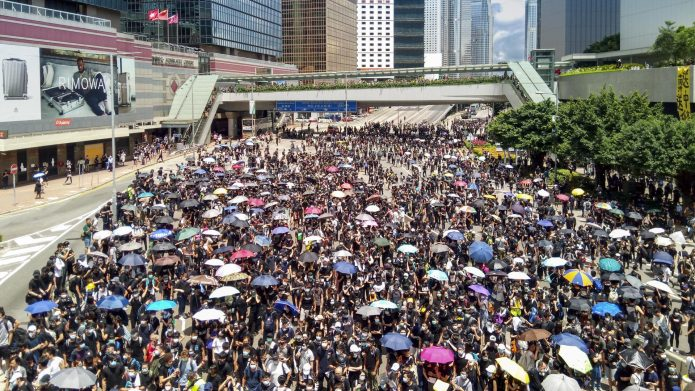 Hong Kong: Small Protests Renew Calls for Autonomy