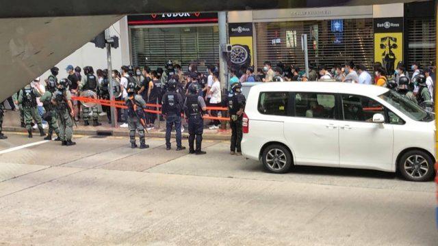 On May 27, Causeway Bay Hong Kong Protest