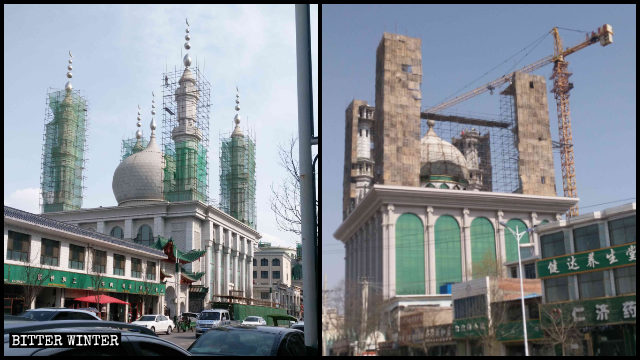 Tiejia Mosque and Baijiazhuang Mosque are being rectified.