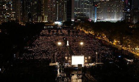 Victoria Park June 4th Vigil in 2018