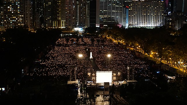 Hong Kong Tiananmen Vigil Officially Banned