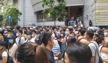 Hong Kong protest July 1, 2020