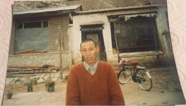 Former Tibetan political prisoner Samdrub is shown in an undated photo.