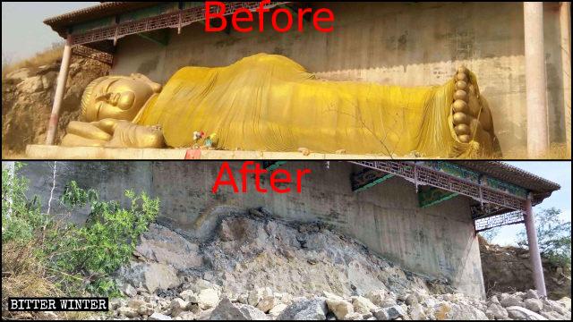 A Popular Tibetan Buddhist Palace Demolished in Hebei