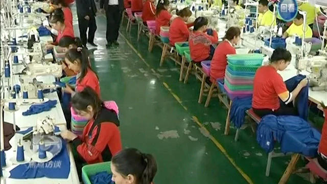 Xinjiang factories employ even minors.