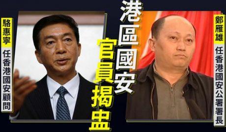 Zheng Yanxiong and Luo Huining