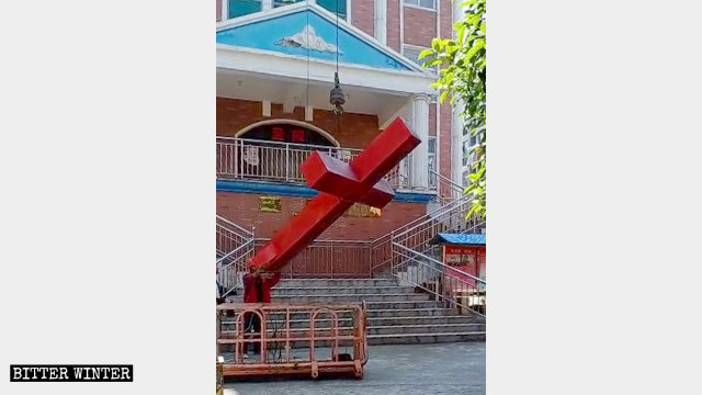 Crosses Toppled from Over 900 Three-Self Churches in Anhui