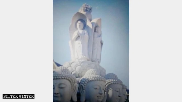 """The original appearance of the """"Buddha of Ten Directions."""""""