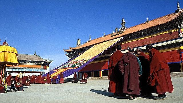The Kirti Monastery, Ngaba