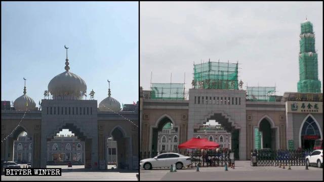 Mosques 'Sinicized' in Ningxia Region, Jilin and Henan Provinces
