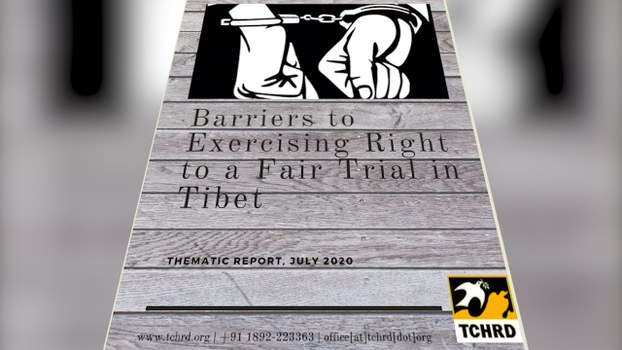 Tibetans Are Denied Rights to Fair Trial Under Chinese Rule: Report