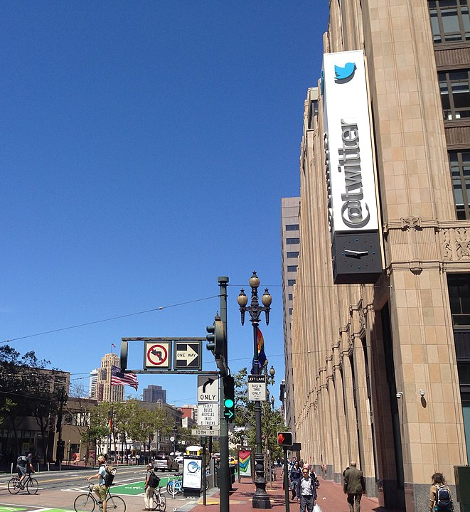 Twitter's San Francisco headquarters