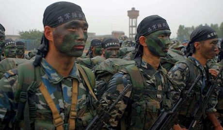 Marines of the People's Liberation Army (Navy) enhanced
