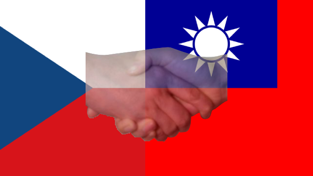 Czech, China Locked in Diplomatic Wrangling Over Taiwan