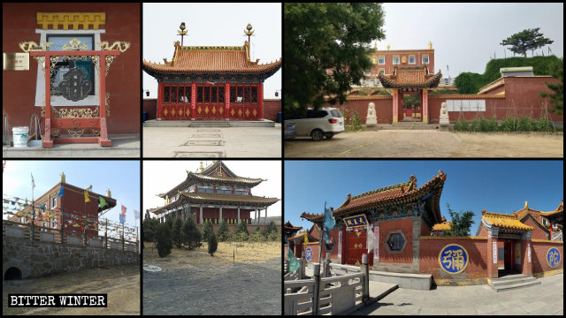 The original appearances of the Fuyun Temple.
