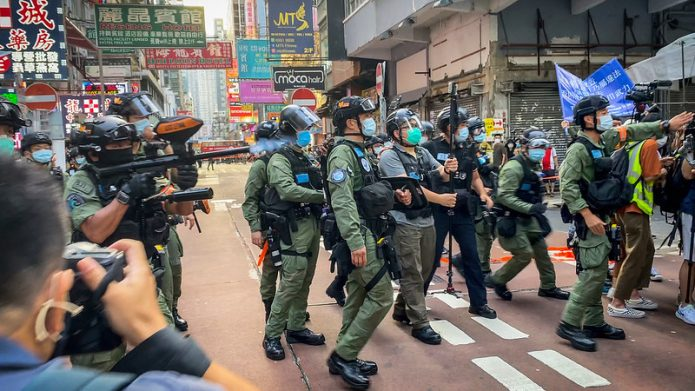 Hundreds Arrested in Hong Kong Protests to Commemorate Postponed Elections