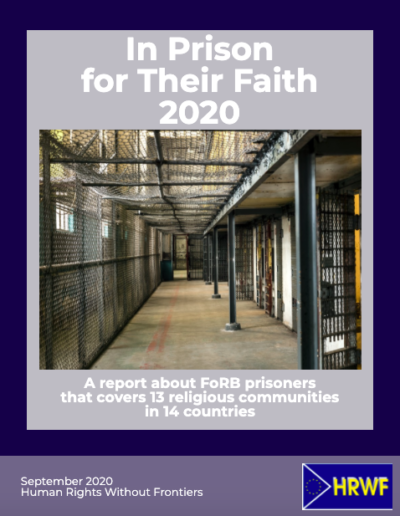 In Prison for Their Faith 2020