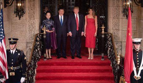 President Trump with President Xi, April 2017