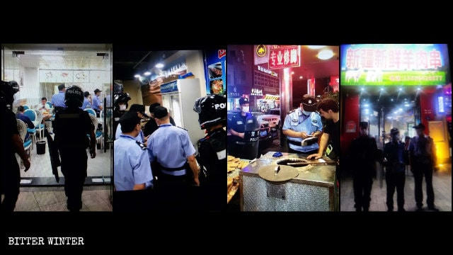 Uyghur businesses in Xiamen are frequently investigated.