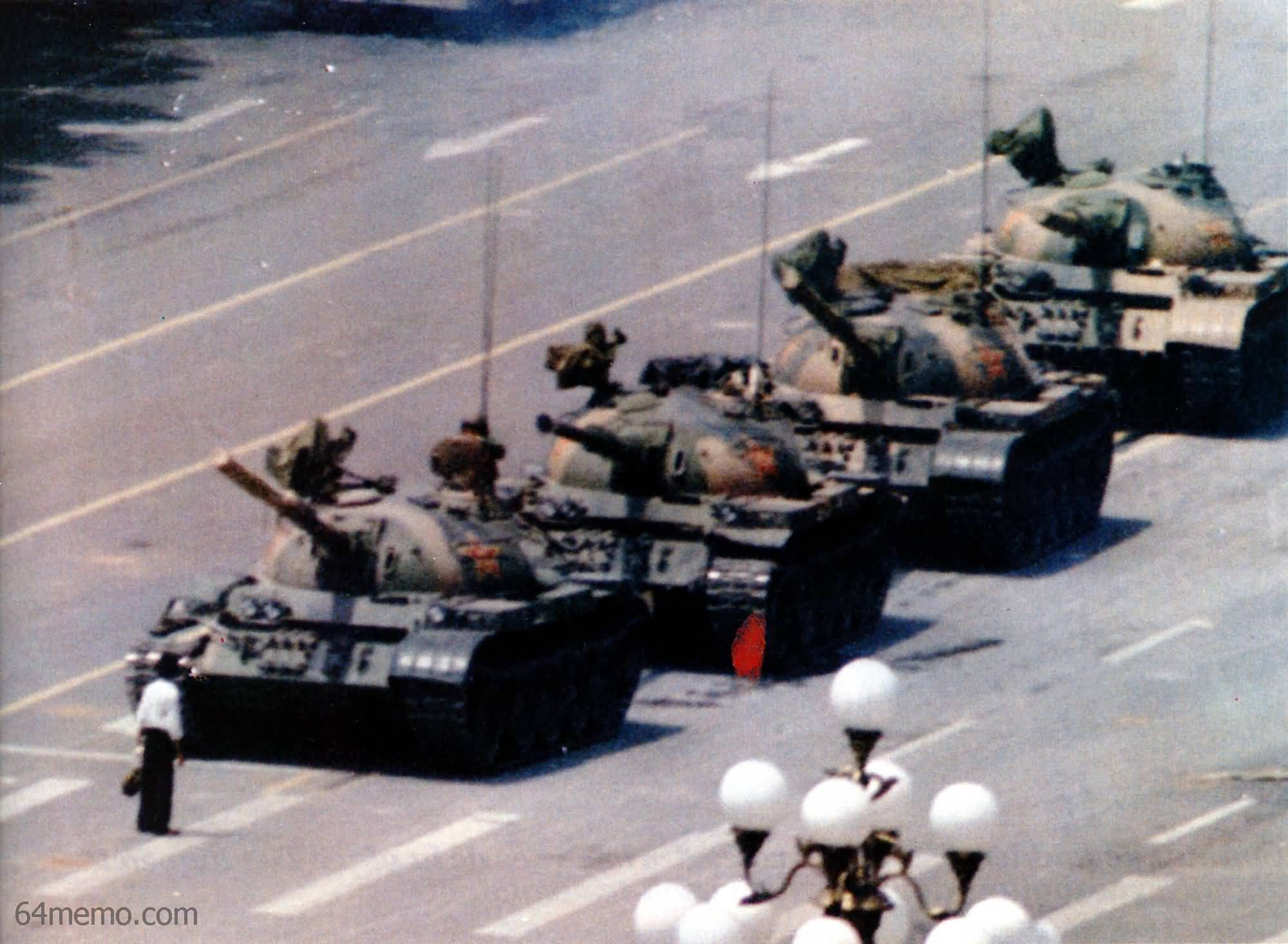 Tank Man, 1989 Tiananmen Square protests