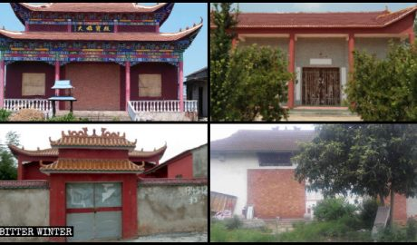 Numerous ancient temples in Hubei were closed for lacking registration certificates.